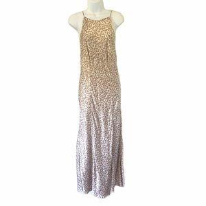 Victoria's Secret Silk Leopard Print Nightgown